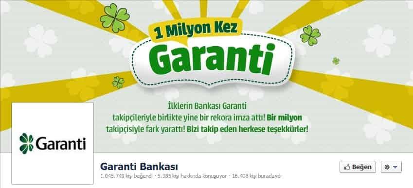 Garanti Bankası Kapak Fotoğrafı