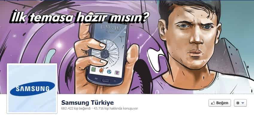 Samsung Türkiye Kapak Fotoğrafı
