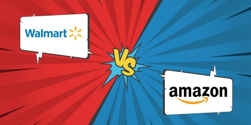 amazon vs wallmart From a sales perspective, wal-mart's figures are over three times that of amazon's, with over $482 billion in 2016 versus amazon's $136 billion although amazon's sales have consistently been on the rise since 2008, it still has a long way to go when compared to wal-mart's sales figures however, amazon.